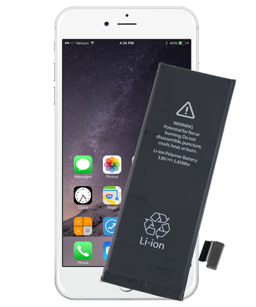 iPhone 6S Plus Battery Replacement Melbourne : Repair Mate | 500 x 600 png 287kB